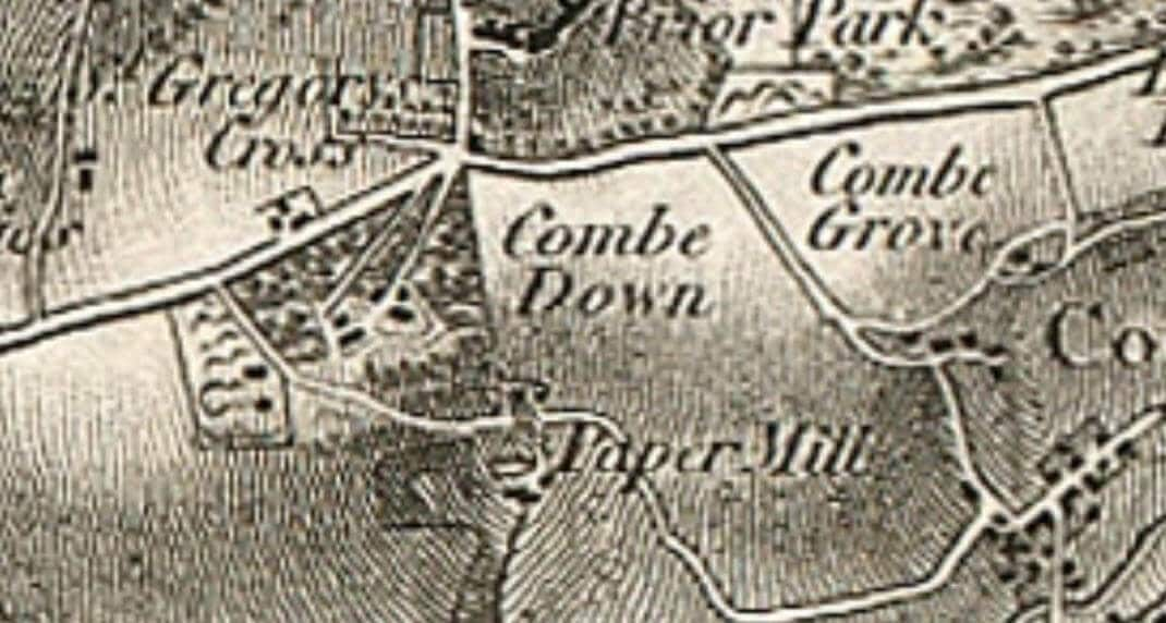 Detail from Ordnance Survey First Series, Sheet 19 1817, 1 to 63360