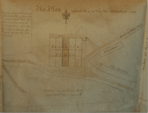 Isabella Place plan 12 January 1805