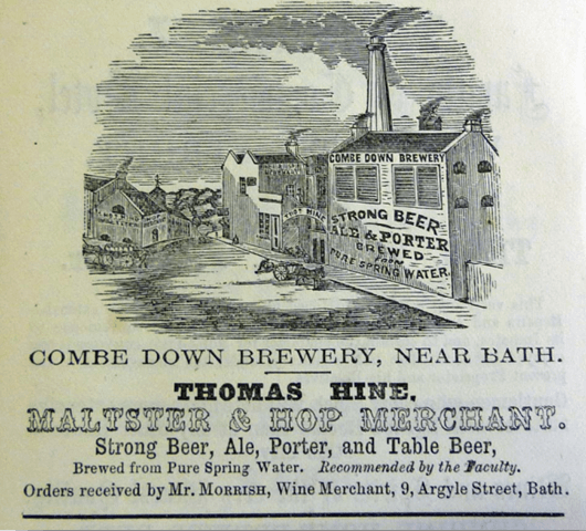Combe Down Brewery 1862