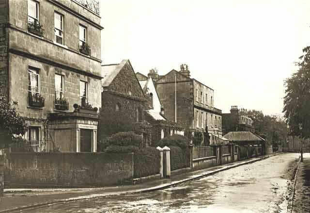 From 109 to 117 Church Road, Combe Down about 1925