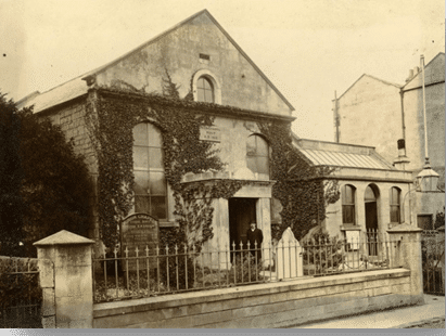 Union Chapel, Combe Down about 1900