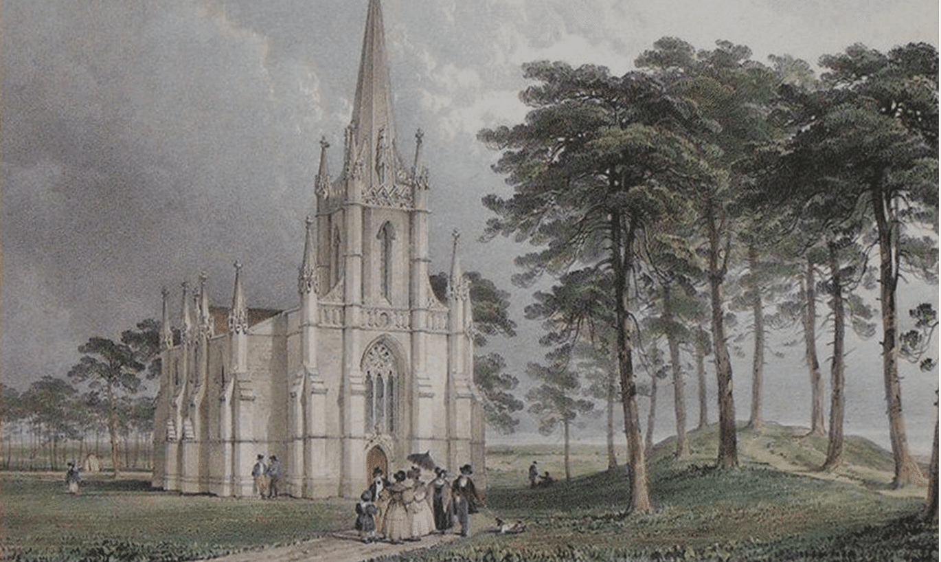 Combe Down Church by S. Worsley