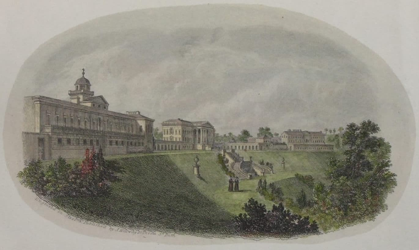 Prior Park on the evening of May 30th 1836