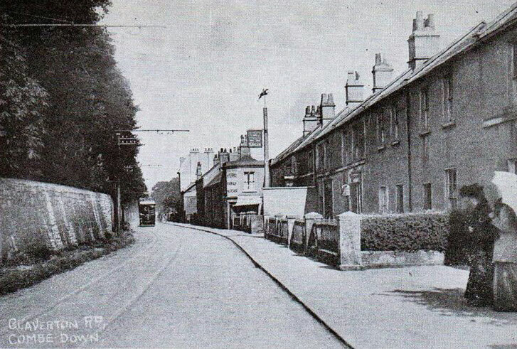 Claverton Road, Combe Down early 1900s