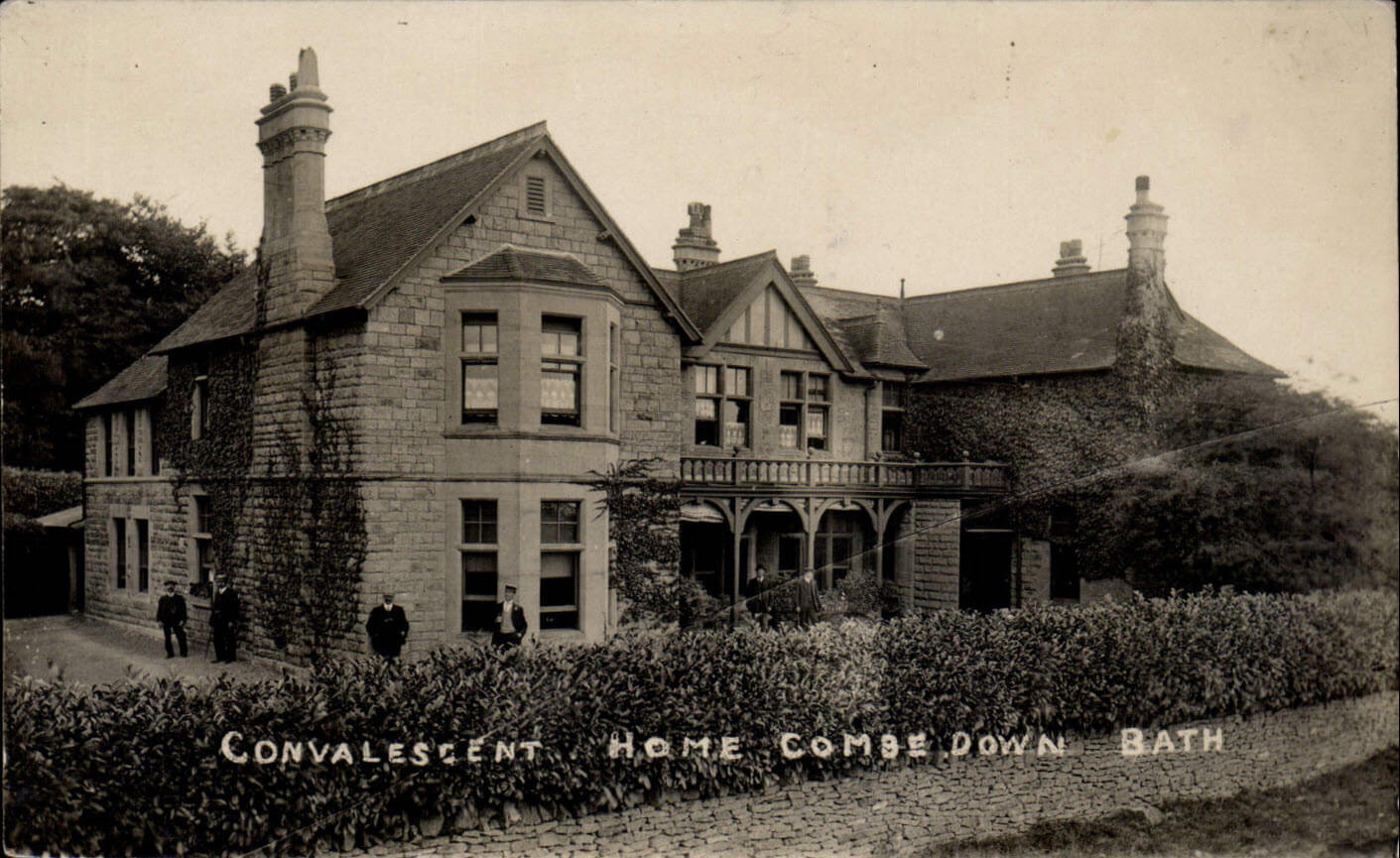 Combe Down convalescent home early 1900s