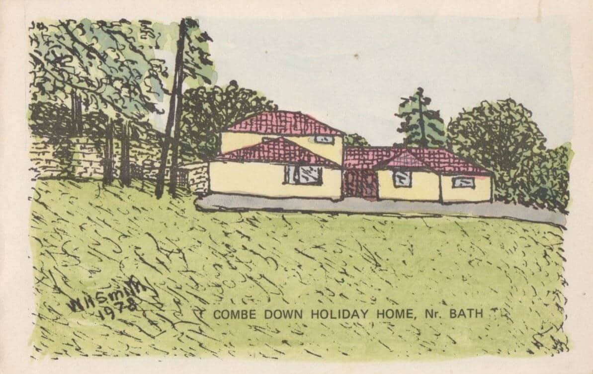 Combe Down holiday home 1978