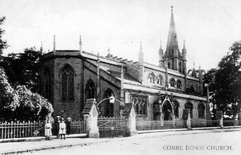 Holy Trinity, Combe Down early 1900s