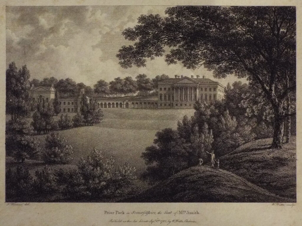 Prior Park  by Watts, 1785