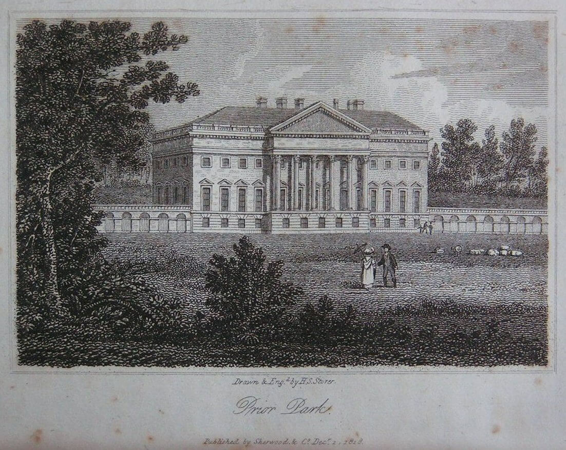 Prior Park in 1818 by H S Storer