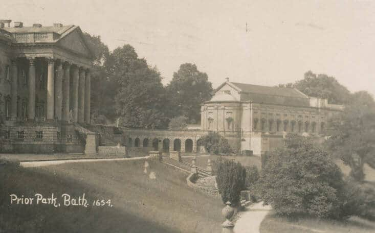 Prior Park looking West early 1900s