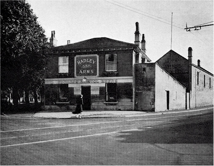 The Hadley Arms, Combe Down c 1950s