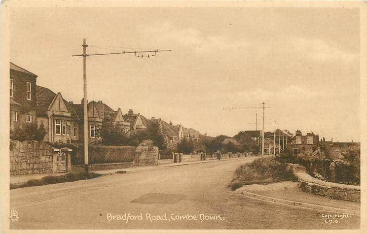 Bradford Road 1950 (With thanks to Tuck DB postcards https://tuckdb.org/)