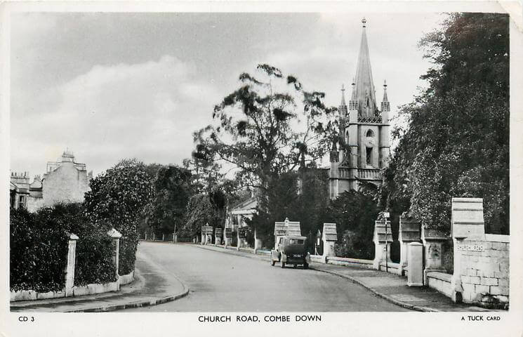 Church Road 1950 (With thanks to Tuck DB postcards https://tuckdb.org/)