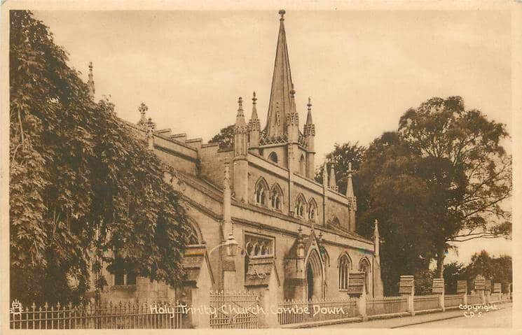 Holy Trinity 1950 (With thanks to Tuck DB postcards https://tuckdb.org/)