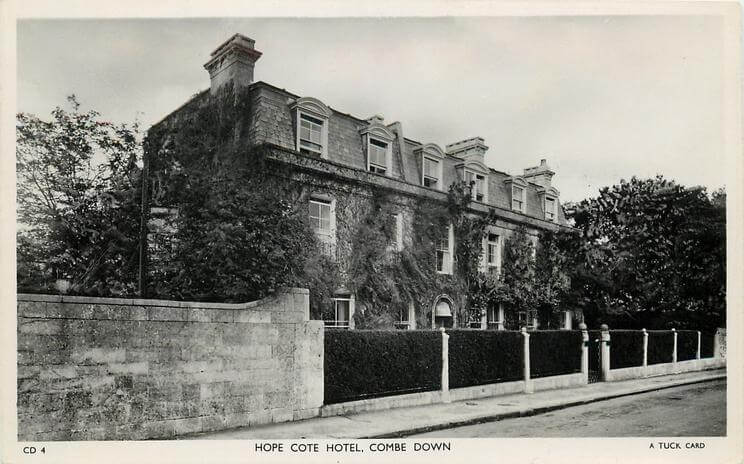 Hope Cote hotel 1950 (With thanks to Tuck DB postcards https://tuckdb.org/)