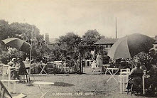 Glasshouse Cafe, Combe Down early 1900s