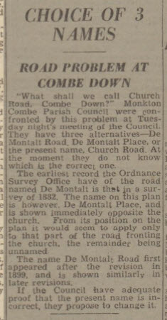 Is it Church Road - Bath Chronicle and Weekly Gazette - Saturday 28 May 1949