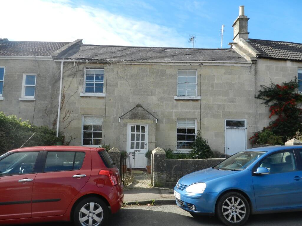 26 Combe Road, Combe Down - formerly a beer house - now a private house