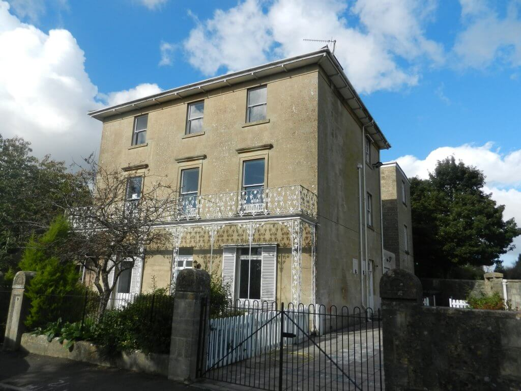 Alma Villa later Glenburnie, Combe Down