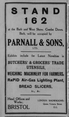 Bath & West Show 1912 - Western Daily Press - Wednesday 22 May 1912