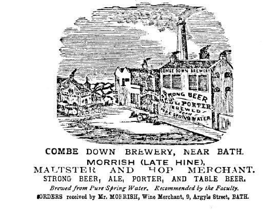 Combe Down Brewery 1876