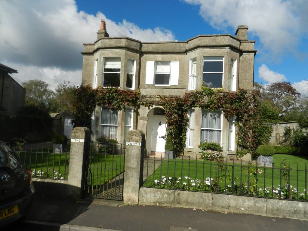 Fowler Villa later Hohenjels then The Garth, Combe Down