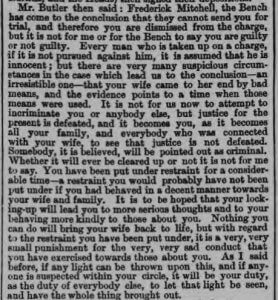 Frederick Mitchell magistrates speech - Bath Chronicle and Weekly Gazette - Thursday 13 September 1877