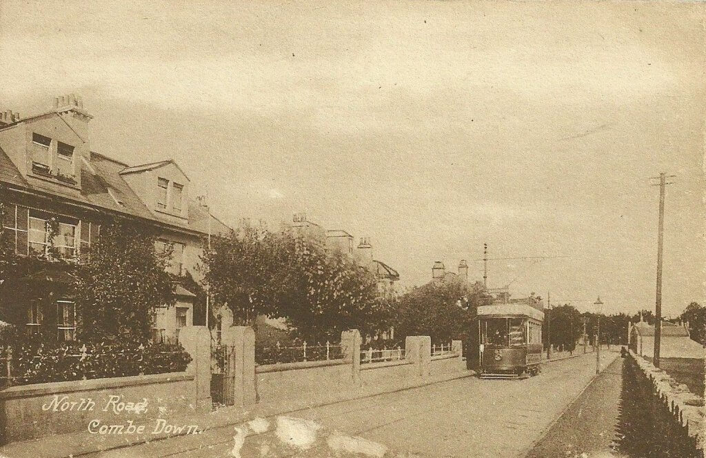 North Road, Combe Down about 1930s