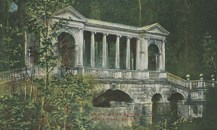 Palladian Bridge, Prior Park, probably 1930s