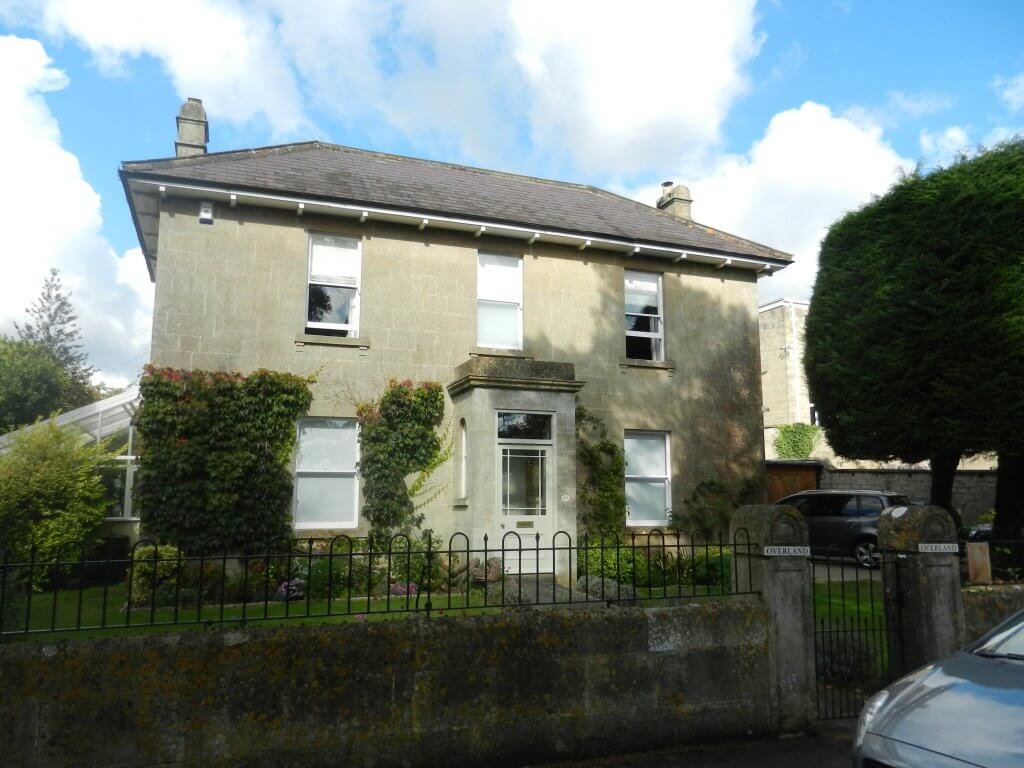 Rutland Villa later Rutland Cottage then Overland, Combe Down