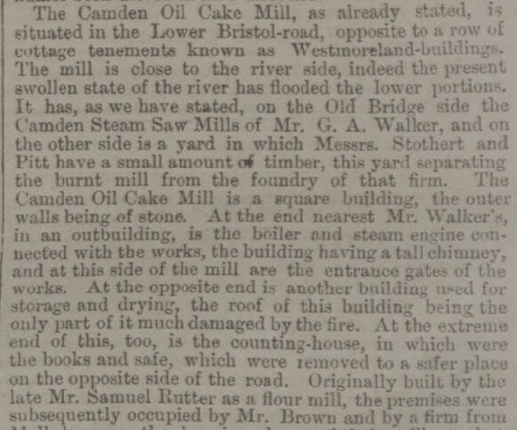 Samuel Rutter and Camden Mill - Bath Chronicle and Weekly Gazette - Thursday 9 January 1879