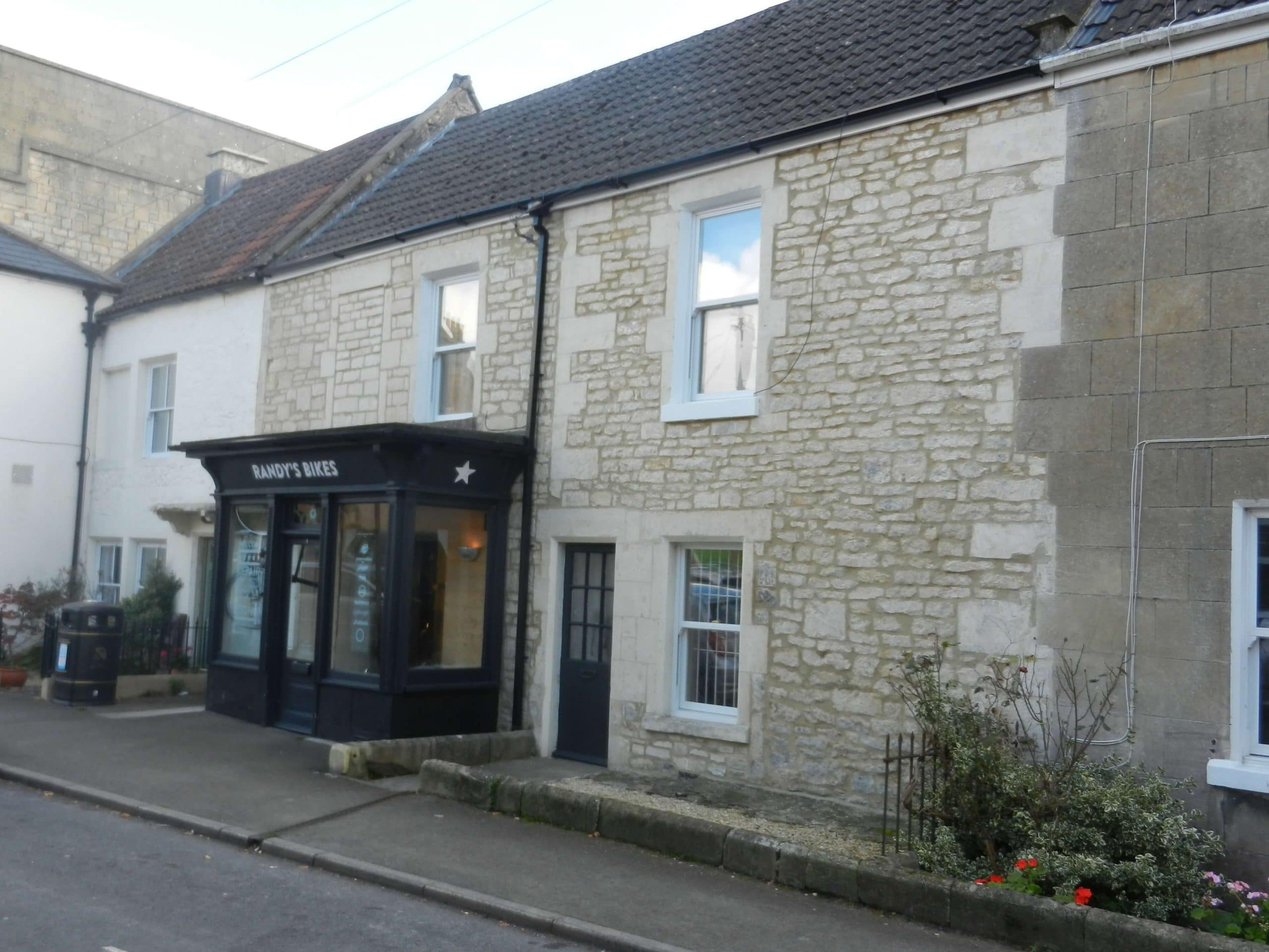 The Carriage Inn, Combe Down - now Randy's bike shop