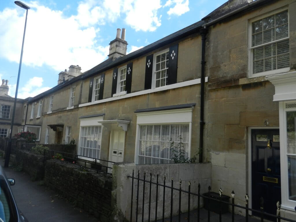 The Three Crowns, Combe Down - now a private dwelling