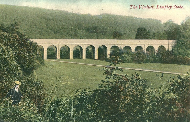 The Viaduct at Limpley Stoke about 1907