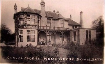 Convalescent Home, Combe Down, 1910