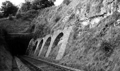 Entry to Combe Down tunnel