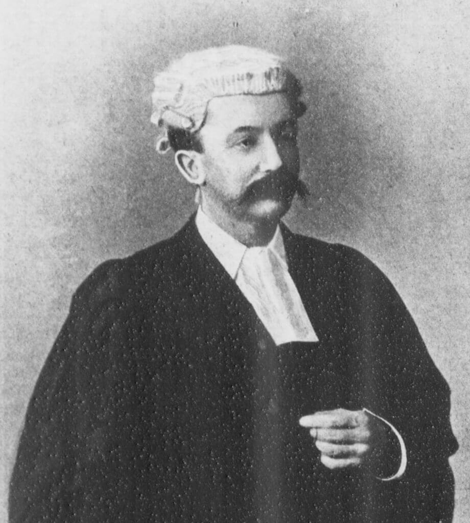 Frederic Edward Weatherly in 1895