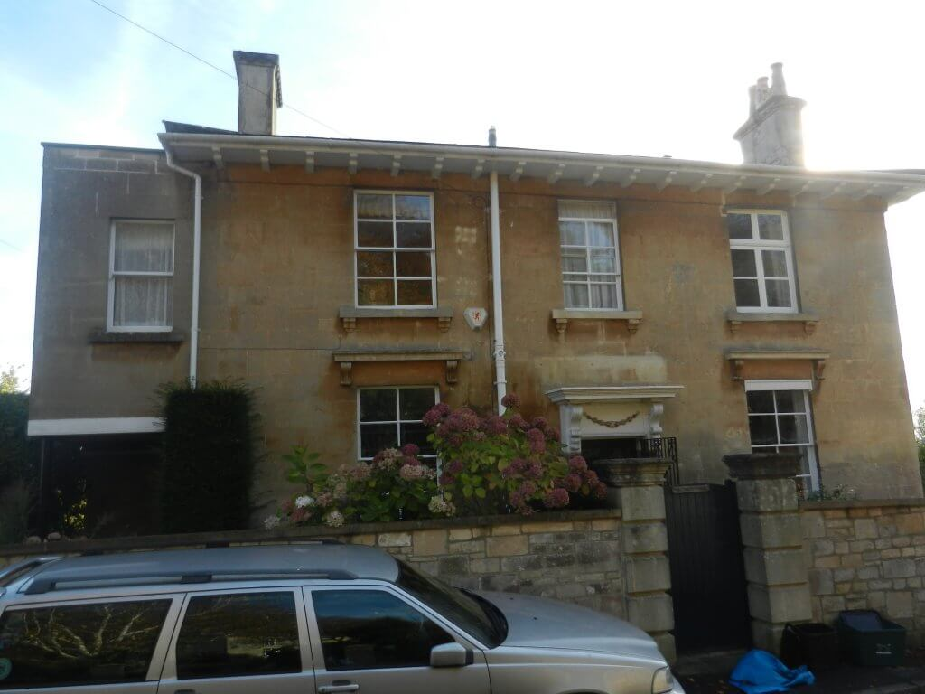 Grosvenor Lodge later St Christopher, Belmont, Combe Down