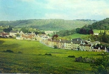 Monkton Combe school colour photo