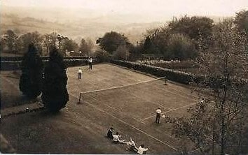 Monkton Combe school tennis