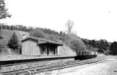 Monkton Combe station in the 1960s