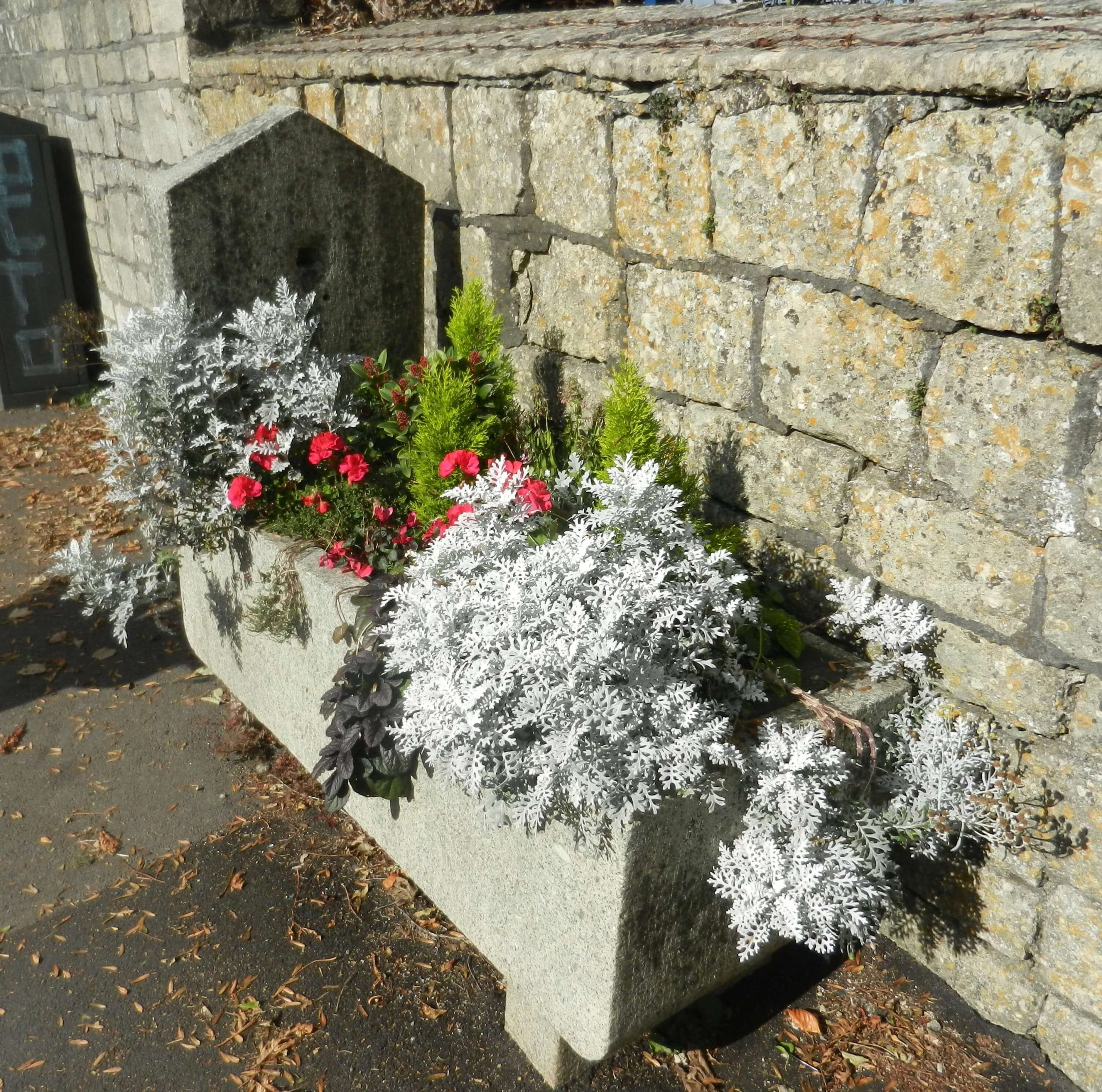 Old horse trough on North Road trough