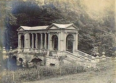 Palladian Bridge, Prior Park, Combe Down about 1910