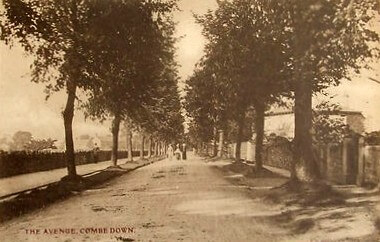 The Avenue, Combe Down, 1910