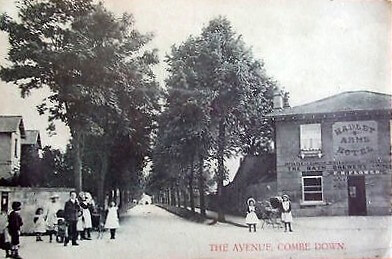 The Hadley Arms, Combe Down, 1910