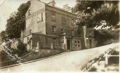 The Viaduct Hotel in Monkton Combe, 1920