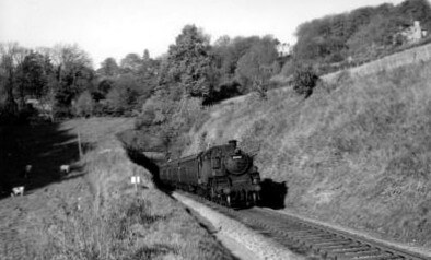 Train and the Combe Down tunnel