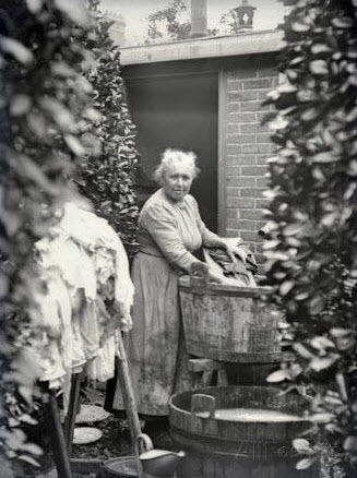 Victorian laundress