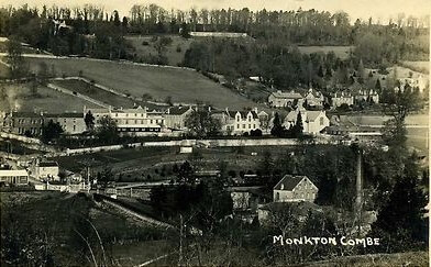 View of Monkton Combe school