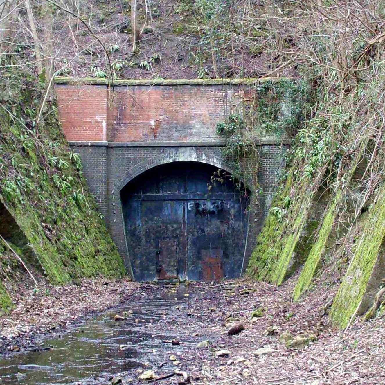 Combe Down tunnel before renovation